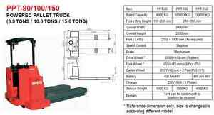 15 Tons Electric Heavy Load Powered Pallet Truck