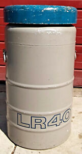 Union Carbide 12 Gallon Lr 40cryogenic Tank Complete All 6 Inserts Free Shipping