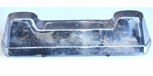 Volvo Amazon 122 Oem License Plate Light Base Chrome Trimmed Base Top Condition