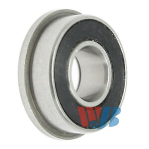 Miniature Ball Flanged Bearing 4x11x4mm Wjb F694 2rs With 2 Rubber Seals
