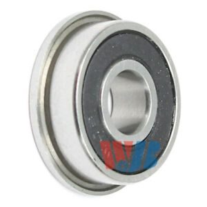 Miniature Ball Flanged Bearing 5x13x4mm Wjb F695 2rs With 2 Rubber Seals