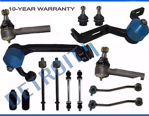 New 14pc Front And Rear Suspension Kit For Ford Explorer Ranger W Torsion Bar