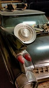 1959 Cadillac Four Window Hard Top Hub Cap