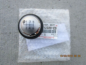 11 15 Scion Tc Trd 2d Coupe 6 Speed Manual Shift Knob Brand New 12320 c0