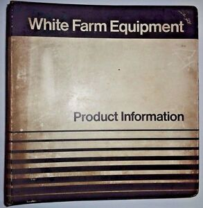 White Oliver Minneapolis Moline Tractor Equip Sales Manual G955 1870 4 180