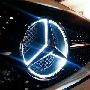 Mercedes grille badge for sale for Mercedes benz symbol light