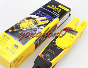 T5 600 Clamp Continuity Current Electrical Tester Clamp Meter New Fluke