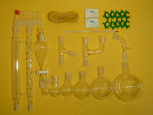 Lab Glassware Kit organic Chemistry lab Glassware Kit 24 29 30pcs