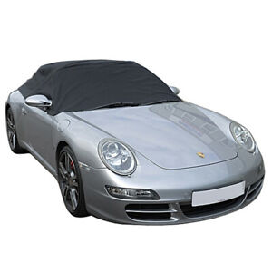 232 Porsche 911 996 997 Convertible Soft Top Roof Half Cover 1999 To 2011