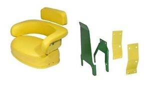 John Deere 3 Piece Seat Cushion Set W Sbk400 Brackets 2520 3020 4020 4320 ex