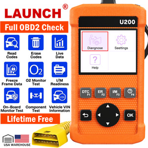 Automotive Obd2 Scanner Obd Code Reader Car Check Engine Fault Diagnostic Tool