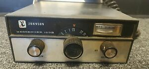Johnson Messenger 123b Channel Cb Radio W Mic