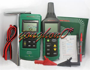 Mastech Advanced Wire Ms6818 Tracker Cable Metal Pipe Locator Detector Tester
