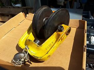 Y561d Coffing Yale Crane Beam Trolley Chain Hoist New Nos Sale 149