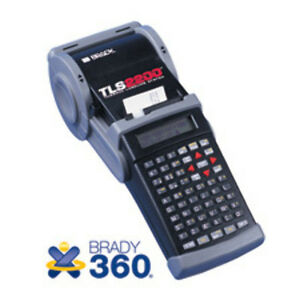 Brady Tls 2200 Thermal Labeling System W replacement Warranty