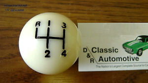 3day Sale Shift Ball Knob White 3 8 Coarse Thread 4 speed Shifter Fits Hurst