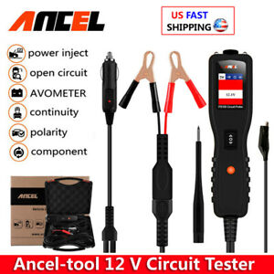 Auto Circuit Tester Electrical System Powerscan Tester Dc Ac Resistance Diagnost