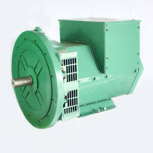 Generator Alternator Head Cgg184g 30kw 1ph 2 Bearing120 240 Volts Industrial