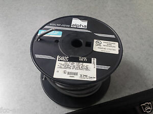Alpha 5462c Cable 20 Awg Multi conductor Cable 300 V Foil Shielded