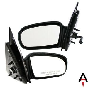 Left Right Pair Set Door Mirror For Chevy Pontiac Cavalier Sunfire