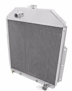 1948 1949 1950 1951 1952 Ford F Series Pickup Truck 2 Row Dr Radiator chevy V8