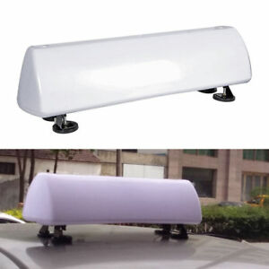 21 Strong Magnets Diy Led Blank Taxi Cab Sign Roof Top Topper Car Bright Light