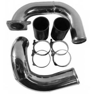 No Limit Coldside Raw Intercooler Pipe Kit For Powerstroke 6 0l 2003 2007