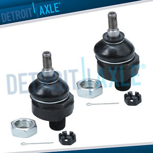 Pair 2 Brand New Front Upper Suspension Ball Joints For Honda Acura
