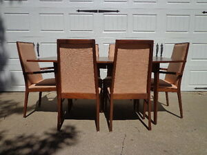 Dining Set Table Chairs Dillingham Milo Baughman Se Mid Century Modern Hollywood