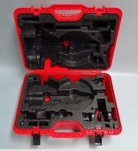 New Red Hard Carrying Case For Leica Ts02 Ts06 Ts06 Plus Ts09 Total Station