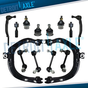New 14pc Complete Front And Rear Suspension Kit For Trailblazer 16mm Threads