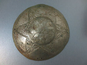Gorgeous Antique Silver Head Bridal 19th C Ottoman Folklore Extremely Rare 2