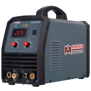 Tig 205 200 Amp Hf tig Torch stick arc Welder 115 230v Dual Voltage Welding