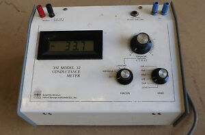 Ysi Model 32 Conductance Meter Without Probe