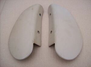Porsche 911 964 928 968 924 944 Turbo S S2 Seat Hinge Cover Backing Plates