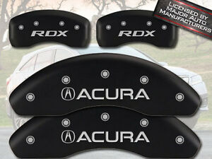 2007 2012 Acura Rdx Front Rear Matte Black Mgp Brake Disc Caliper Covers 4pc