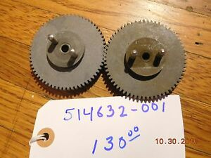 A o Smith Meter 514632 001 Calibrator Drive Gear