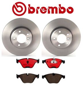 Brembo Front Pads Rotors Set For Bmw E60 528i 530i 535i p06031n 09917211