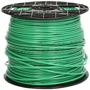 Southwire 22968201 Stranded Thhn 12 Gauge Building Wire 500 feet Green