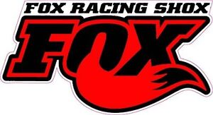 Fox Racing Shox Red Tall Small Decal 3 X 2