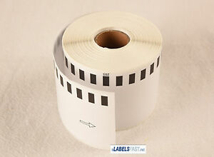 20 Rolls Value Pack Dk 2205 White Brother Compatible Labels Paper Dk 2205