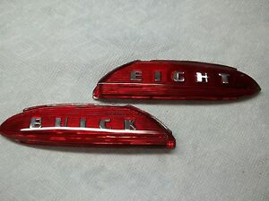 1950 52 Buick Trunk Emblem Lens Buick Eight New