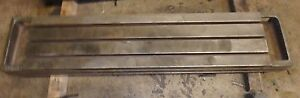 57 X 12 X 9 Steel Welding T slotted Table Cast Iron 3 Slot