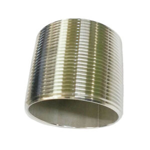 304 Stainless Steel Pipe Nipple 3 X 3