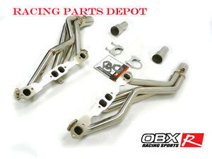Obx Exhaust Long Tube Header Fits 96 97 98 99 Chevrolet Gmc Truck 5 0 5 7l 2 4wd