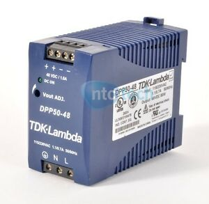 Tdk Lambda Dpp50 48 Ac dc Power Supply 115 230vac To 48vdc 1 0a