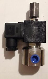 Three way 12v Solenoid Process Valve Svo Wvo 3 Way Vegetable Oil Stc Brand