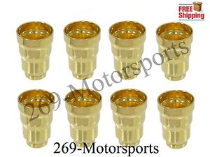 Fuel Injector Sleeve Set Of 8 Fits 94 03 Ford 7 3 7 3l Powerstroke Diesel