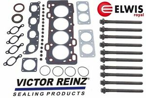 For Made In Denmark Elwis For Volvo S40 V40 Head Gasket 10 Head Bolts