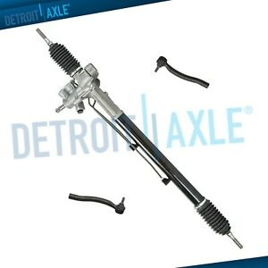 Complete Power Steering Rack And Pinion Assembly Outer Tie Rod Links For Acura